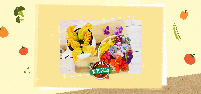 Kwiaty jadalne – piękny i pachnący dodatek kulinarny ZWZ WINIARY