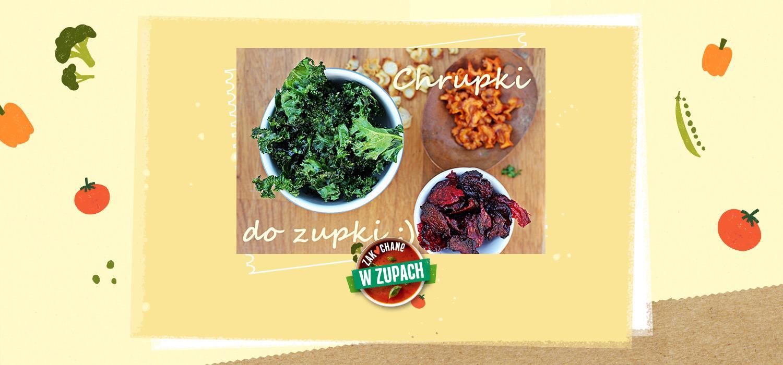 Chipsy warzywne – zdrowe i chrupiące dodatki do zup ZWZ WINIARY