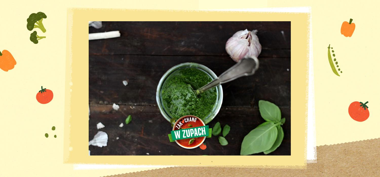Pistou – zielony dodatek do zupy ZWZ WINIARY