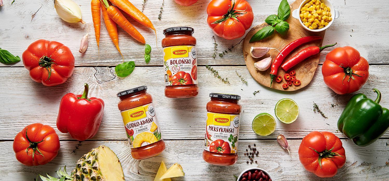 Sosy pomidorowe Winiary