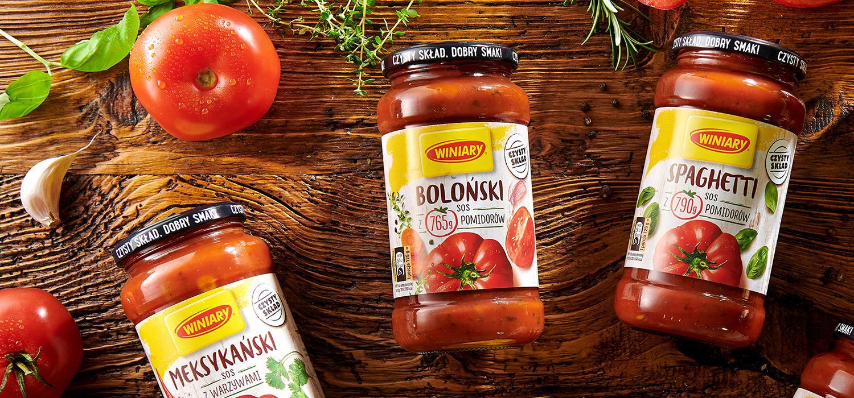 Gotowe sosy pomidorowe