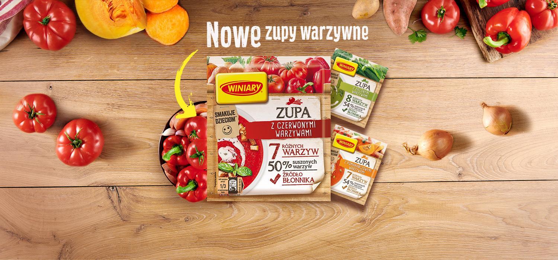 Nowe Zupy warzywne WINIARY TOP