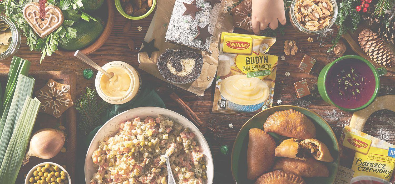 przepisy wegetariańskie na święta Bożego Narodzenia WINIARY