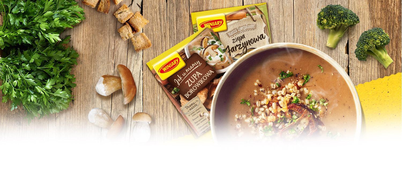Dobra Zupa to Podstawa | Zupy WINIARY