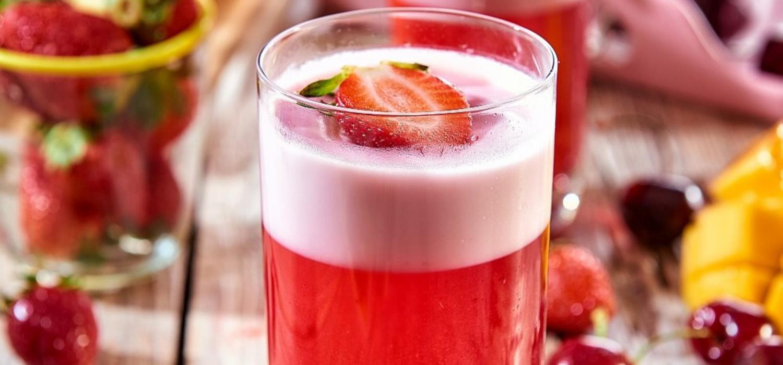 Deser na zimno z galaretką | Przepisy Winiary