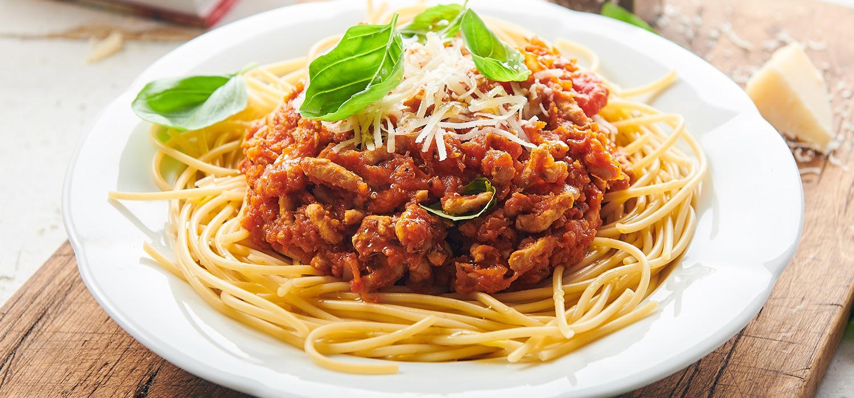 spaghetti, przepis na spaghetti, sos do spaghetti