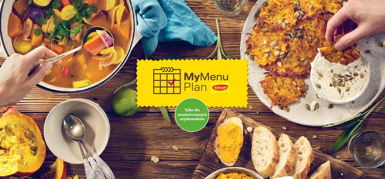 My Menu Plan - indywidualny planner codziennych posiłków Winiary