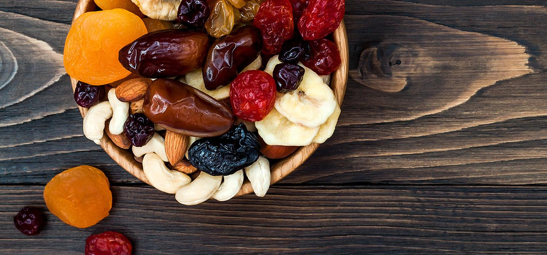Bakalie, suszone owoce