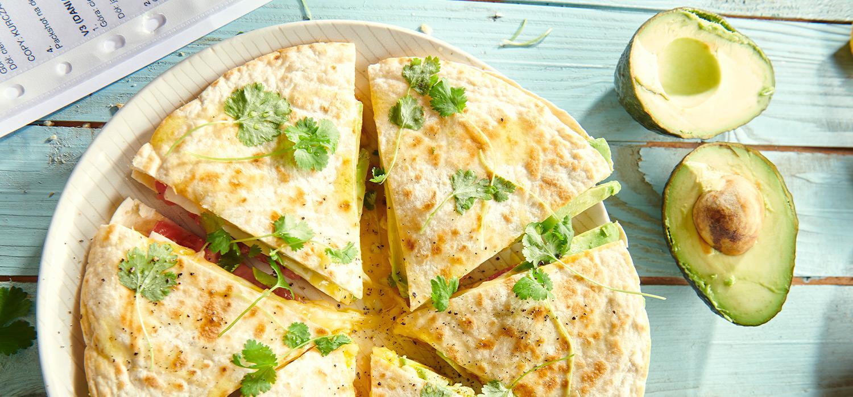 Drugie śniadanie: quesadilla z awokado